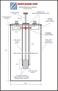 Duplexor 146 mhz lu5mc